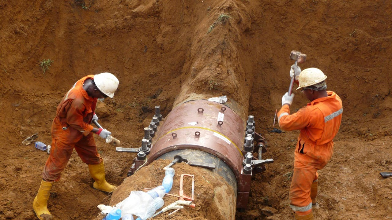 Pipelines repairs PHOTO: naija247news
